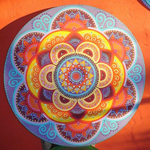 Mandalas aromacromoterapia equilibrando los sentidos - Cuadros mandalas ...